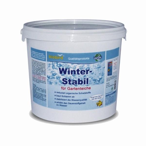 Weitz-Wasserwelt WINTER STABIL für Gartenteiche / Schwimmteich (5 kg) für 100.000 Liter