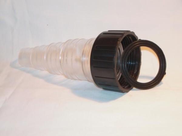 Schlauchstufentülle Klar für Pondlife UVC-Gerät inkl. Flachdichtung