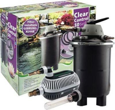 Velda Clear Control 50 Set mit Druckfilter UV+Pumpe