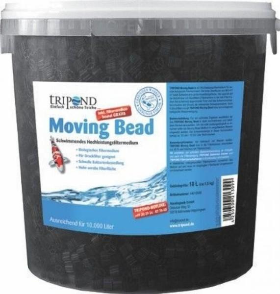 Tripond Moving Bead 10 L Eimer inkl. praktischem Filtersack
