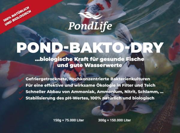 Pond-Bakto-Dry Starterkulturen von Pondlife
