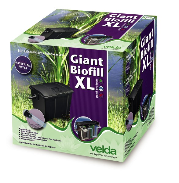 Velda Giant Biofill XL Durchflussfilter + UVC 18W