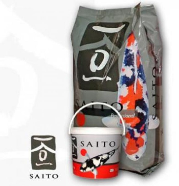 Saito Professional 5kg Futter Koi 3,0mm