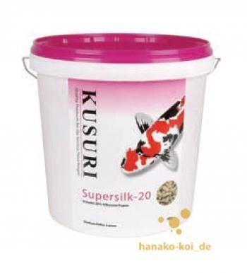 Kusuri Super Silk 20 Koifutter 5 kg (Ø 4-5mm) Spezialrezeptur