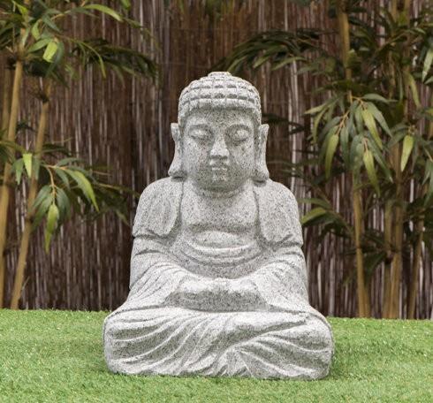 """Granitstein """"Buddha I"""" mittel"""
