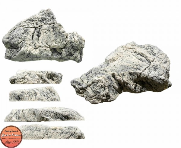 Back to Nature Aquarium Modul White Limestone L, 50x45x11cm