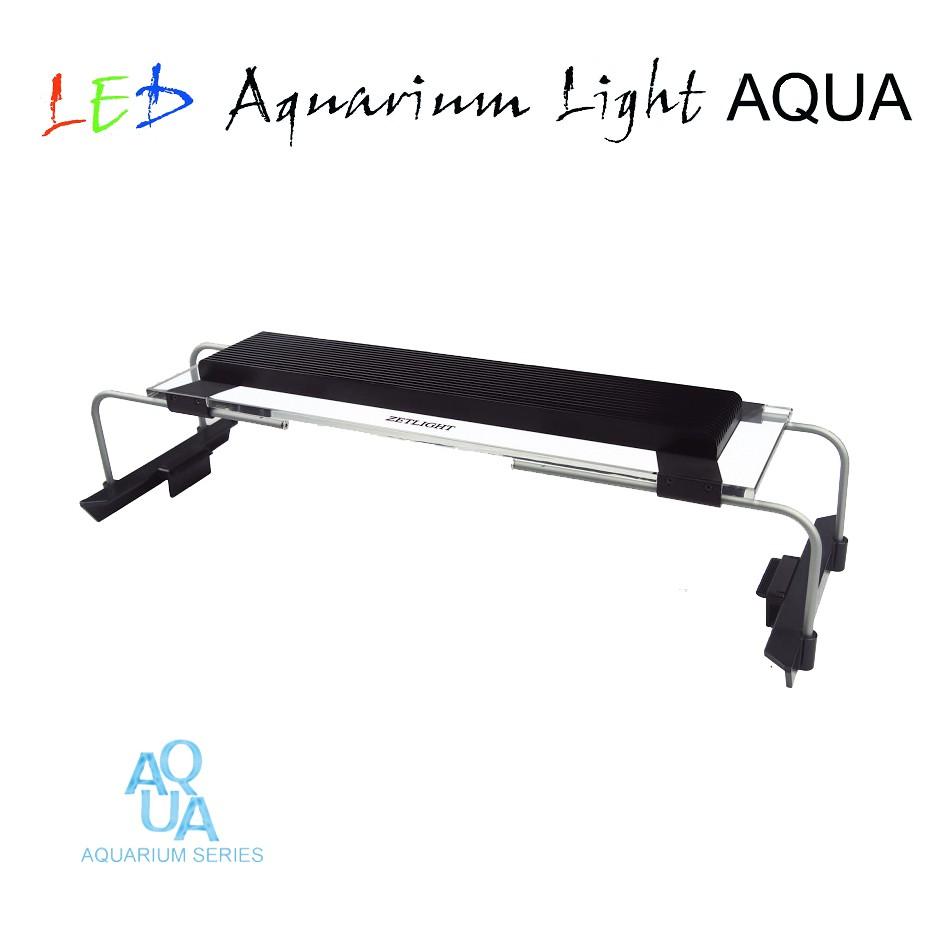 zetlight aqua aquarium led beleuchtung aquariumlampe aufsetzleuchte led aquariumleuchten. Black Bedroom Furniture Sets. Home Design Ideas