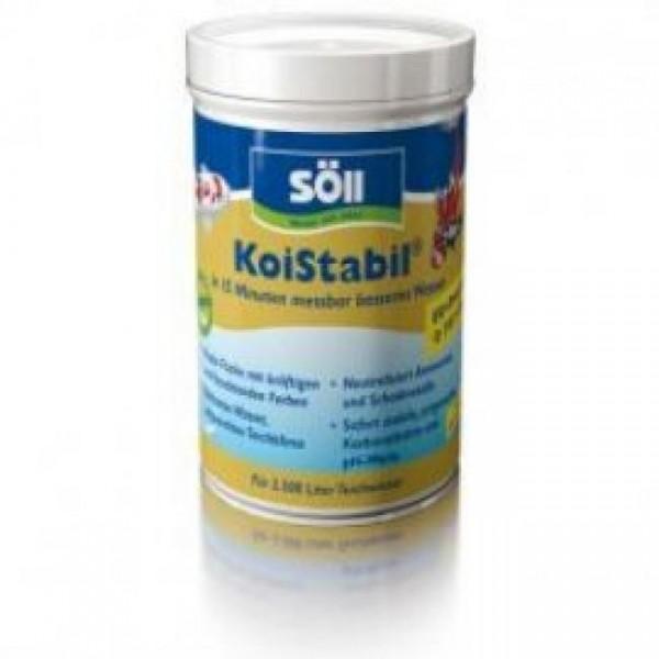 Söll KoiStabil 250 g für 5.000 Liter Teichwasser reguliert den PH-Wert