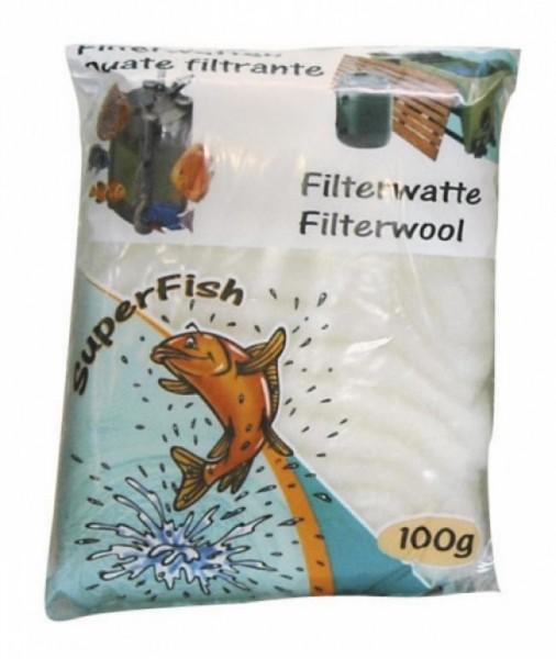 Superfish FILTERWATTE WEISS 500 GRAMM