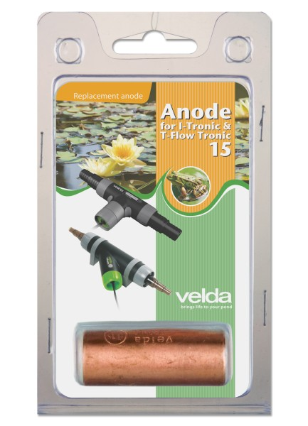 Anode für Algenvernichter VELDA I - Tronic 15 IT-15 / T-Flow 15