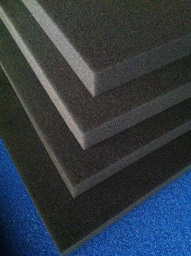 Pondlife Filterschaum schwarz 50x50x3 cm zur optimalen Verwendung als Filtermedium in Teichfiltern