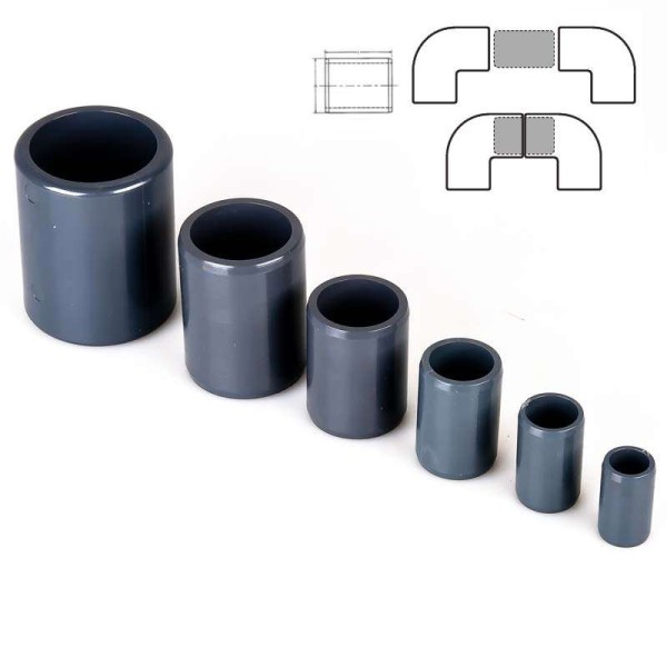 PVC Verbindungsrohre