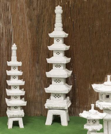 """Granitstein """"Pagoda"""" klein"""