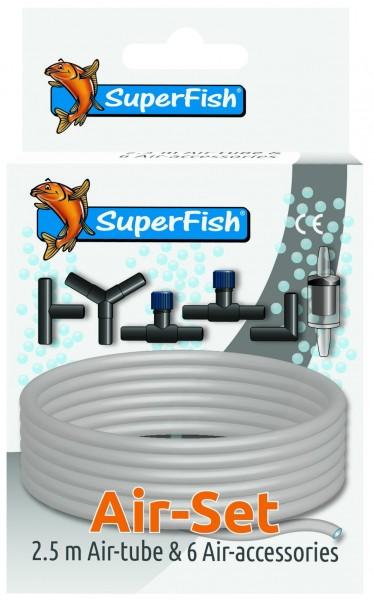 Superfish Luftschlauch & Zubehör Set