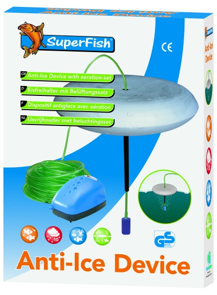 Superfish Eisfreihalter -Set sofort einsatzbereit