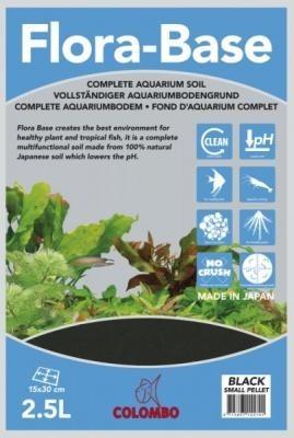 Colombo Flora 2,5 LTR Schwarz vollständiger Aquariumbodengrund
