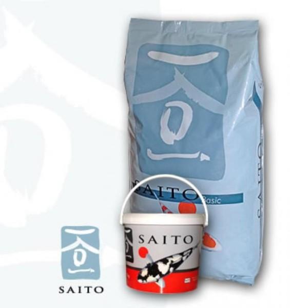 Saito Basic 15kg Futter Koi 5,0mm