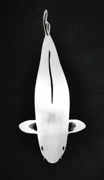 Chagoi Edelstahl Deko Koi 30 cm