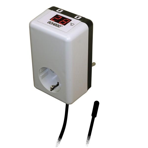 Schego Temperaturregler Regler TRD electronic Schaltbereich +5...+50°C / 220-240 V/50 Hz (max.1000W)