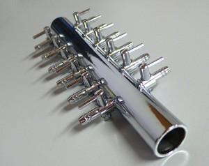 Luftverteiler 12-fach aus Metall getrennt regelbar
