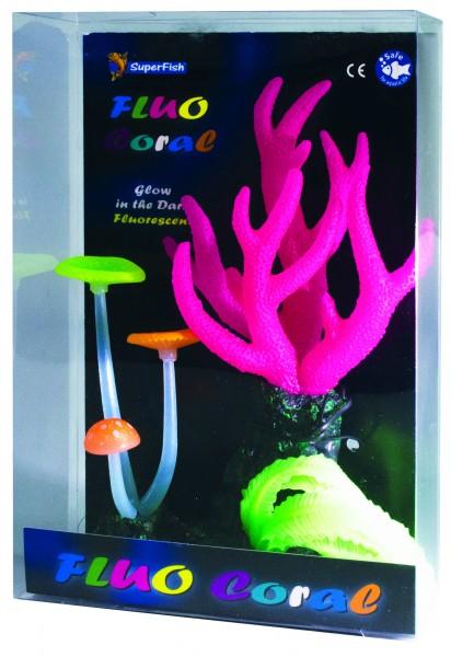 Superfish Fluo Deko Koralle