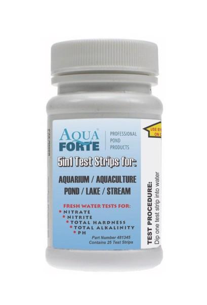 Aquaforte Eco-Check 5 in 1 Teststreifen (50 Stück)