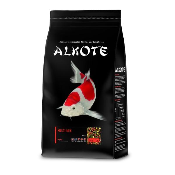 Alkote Koifutter Multi Mix (3 kg / Ø 6 mm) Basisfutter ideal für die Sommermonate