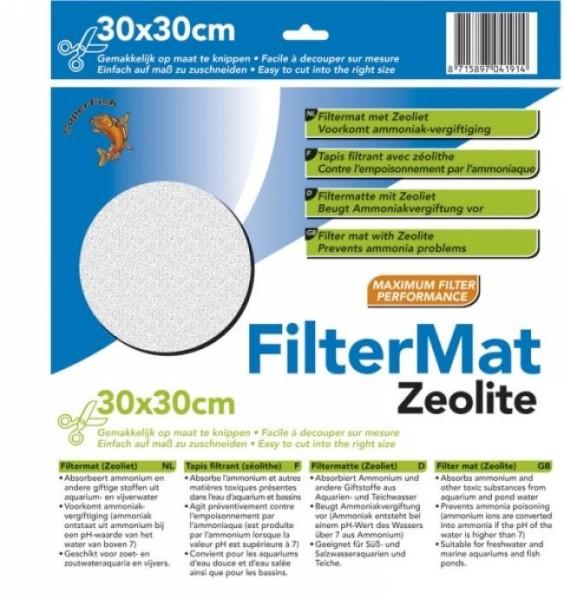 Superfish FILTERMATTE ZEOLIET 30 X 30 CM