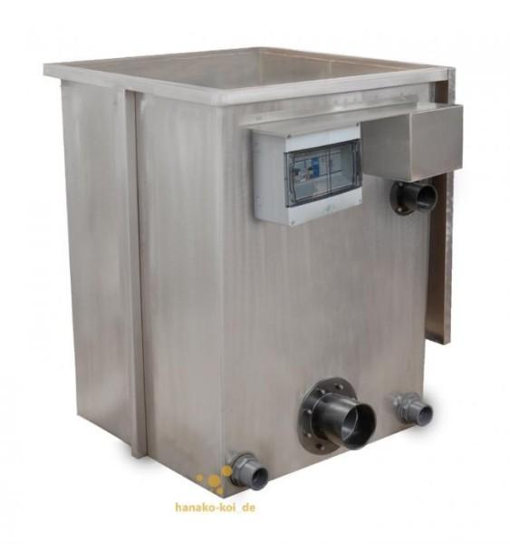 Crystal Clear Vliesfilter 500 (Pumpversion) bis 35.000 Liter inkl. UVC + Filtermaterial + Vliesrolle
