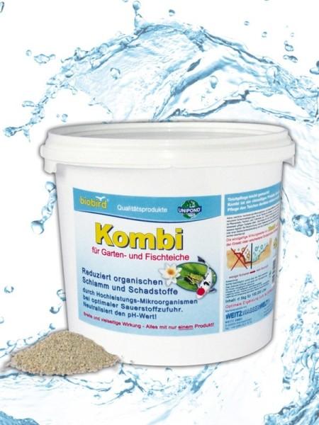 Weitz-Wasserwelt KOMBI Schlammkiller für Garten & Schwimmteiche 5 kg für 100.000 l