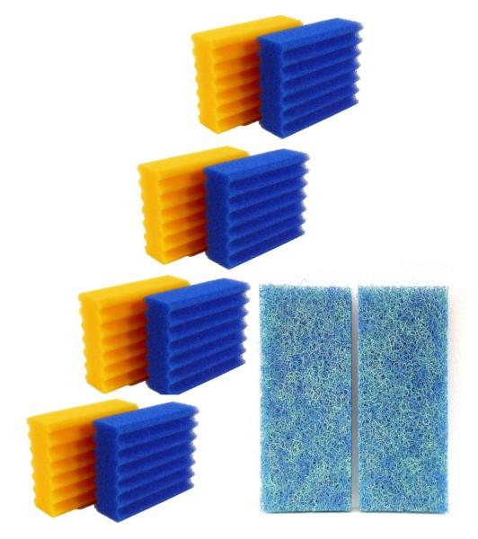 Ersatzschwamm Set passend für Oase Filtoclear 12.000 3 x grob + 2 x fein