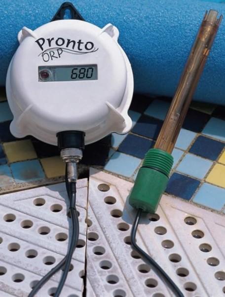 Hanna Einzelne ORP Elektrode (HI3214P) für HI981406 und HI982401,PEI,Gel,BNC Stecker und 2m Kabel