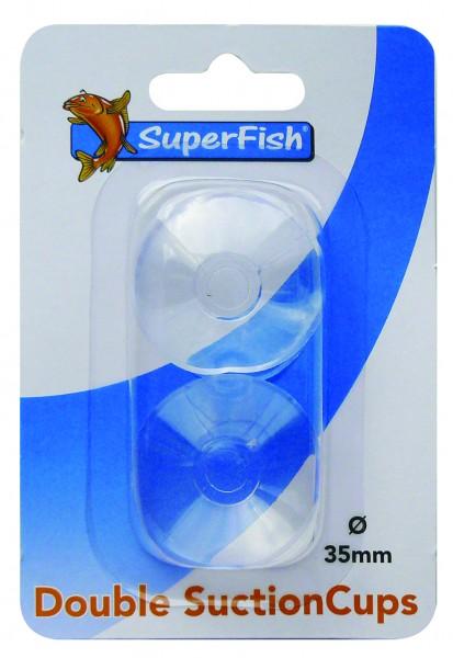 Superfish Doppelsaugnapf 35mm 2 Blister 2Stk