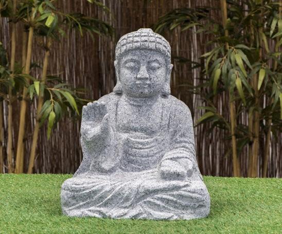 """Granitstein """"Buddha III"""" klein"""