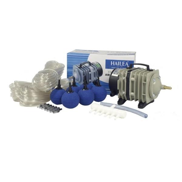 Hailea ACO-318 Teichbelüfter-Set mit Kolbenkompressor