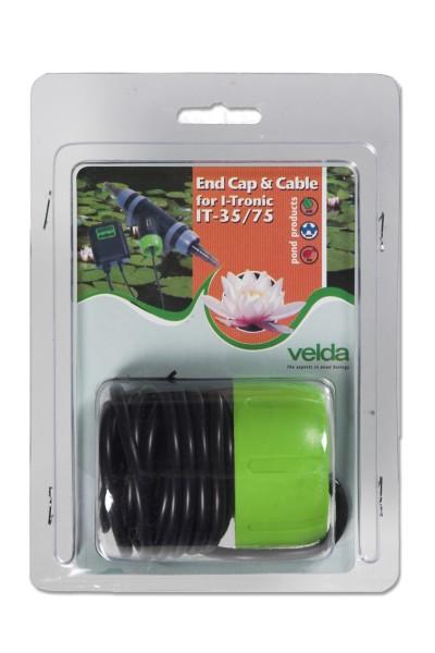 Schraubdeckel mit Kabel für T-Flow 35 /75 End cap & cable