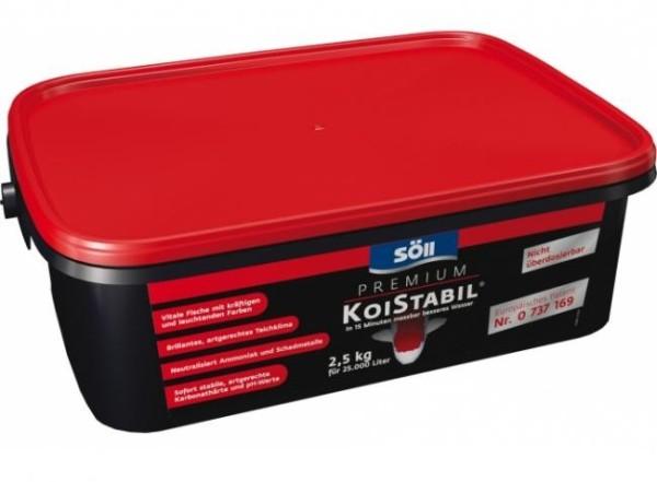 Söll KoiStabil Premium 2,5 Kg für 25.000 Liter Teichwasser reguliert den PH-Wert