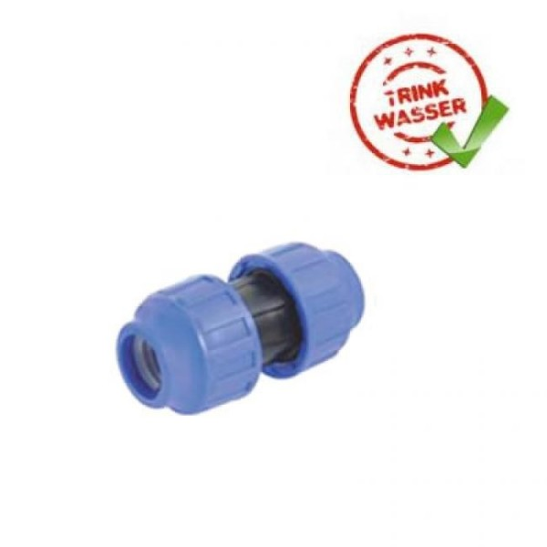 PE Rohr Reparaturkupplung DVGW geprüft - Trinkwasser geeignet