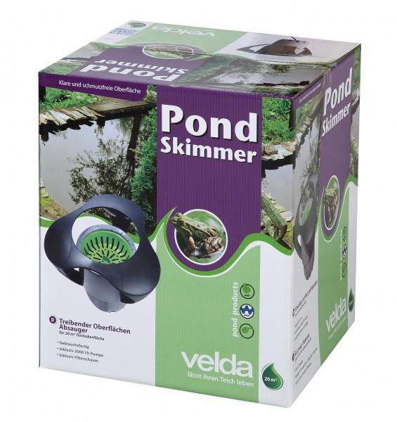 VELDA Pond Skimmer mit Pumpe für 20M²