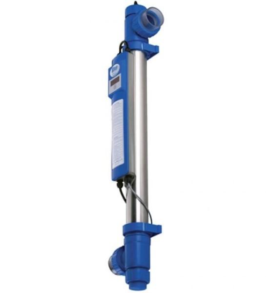 BLUE LAGOON UV-C KUPFER IONIZER 75 Watt BIS 100% WENIGER CHLORGEBRAUCH!