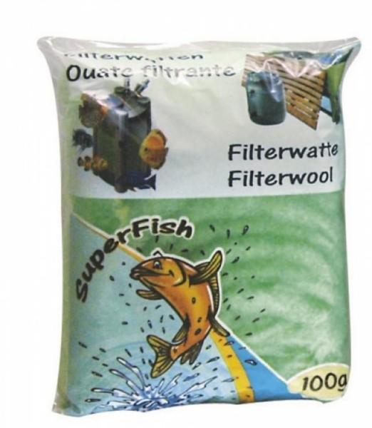 Superfish FILTERWATTE grün 100 GRAMM