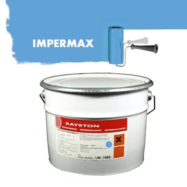 Impermax hochwertige flüssige Teichfolie - blau - 25 kg