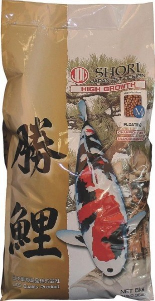 Shori Wachstumsfutter, small, d 2,5mm, 5 kg