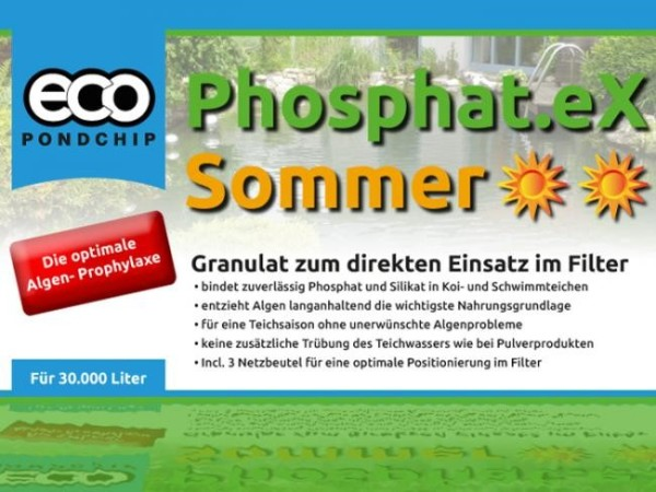 ECO Pondchip Phosphat.eX Sommer 5 Liter Eimer