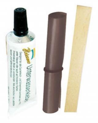 Heissner PVC-Unterwasser-Folienkleber Reparatur - Set
