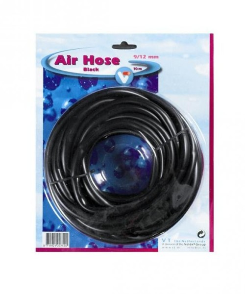 Velda 10 Meter schwarz Luftschlauch 9/12 mm Air Hose black