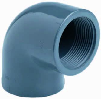 PVC-Winkel mit Innengewinde 90° Ø 32 x 1&quot