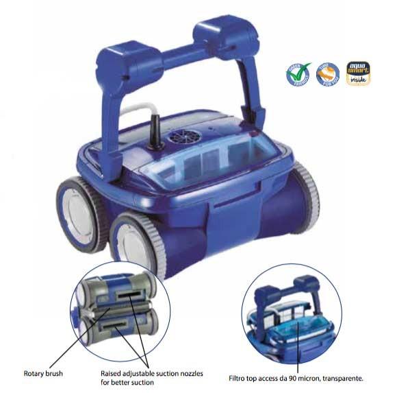 MAX 4 – der erste 4x4 Pool-Reiniger/ Cleaner