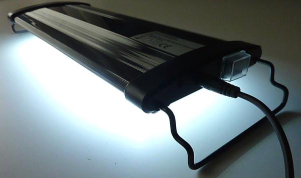 Aquarien LED Beleuchtung Aufsatzleuchte Blau Weiß ALU Leuchtbalken