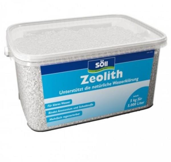 SÖLL Zeolith Teich Wasserklärer 5kg
